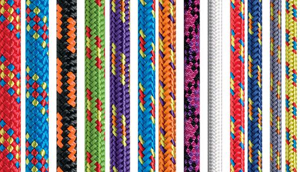 Beal Reepschnur in verschiedenen Dicken und Farben. Erhältlich sind Reepschnüre von Beal zum Beispiel in den Onlineshops von Bergfreunde, Bergzeit oder bei Amazon.(Foto: Beal).